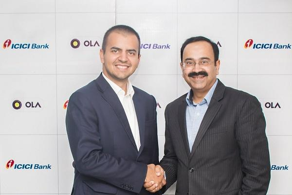 Ola signs MoU with ICICI Bank to launch innovative solutions for customers and drivers
