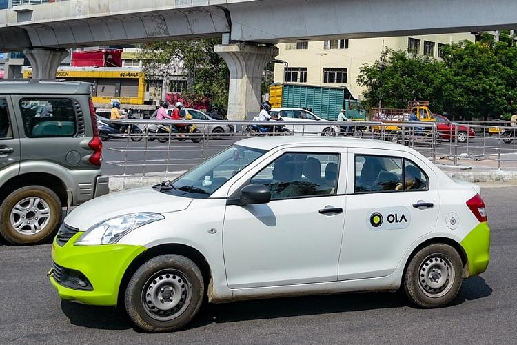 Ola customers covered 20 million kilometres on New Years Eve across the country