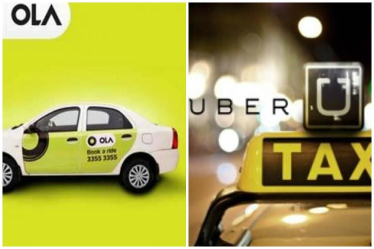 Karnataka transport dept issues notice to Ola and Uber for charging time-based fare