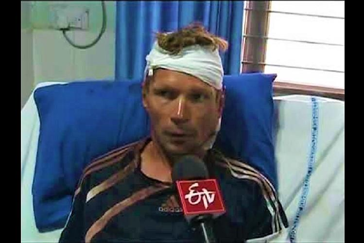 Mistaken for thief Russian cyclist on world tour thrashed in Telangana