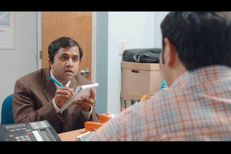 Omi Vaidya In A Scene From The Show Brown Nation
