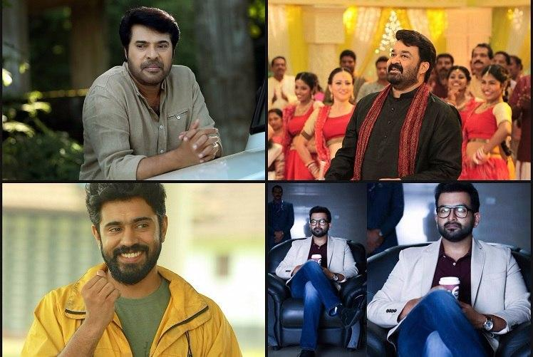 Mohanlal Mammootty Prithviraj or Nivin Pauly The big box-office clash this Onam