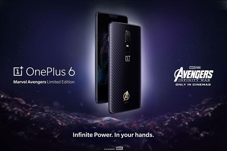 OnePlus 6 X Marvel Avengers Limited Edition to go on sale on May 29