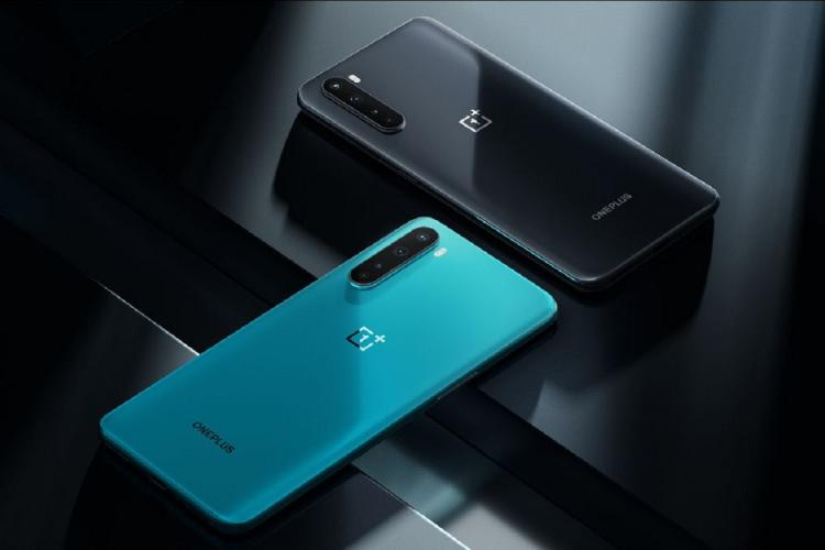 The black and the blue variants of the newly launched OnePlus Nord smartphone