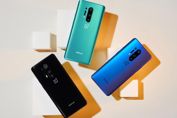 Newly launched OnePlus 8 Pro smartphones