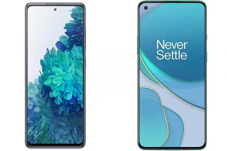 Samsung Galaxy S20 FE vs OnePlus 8T Heres how they fare