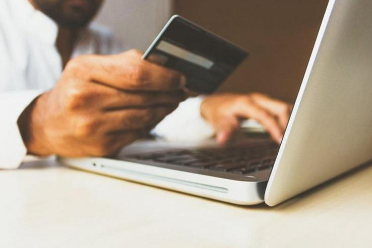 Online payment using card
