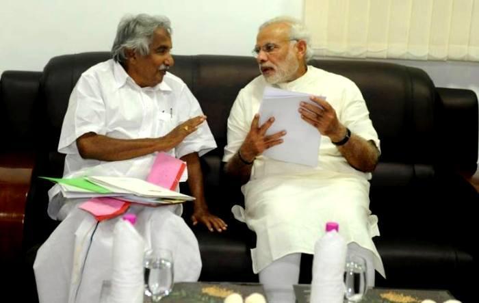 Rajnath Singh and Rudy misled Parliament on invitation row Chandy tells PM