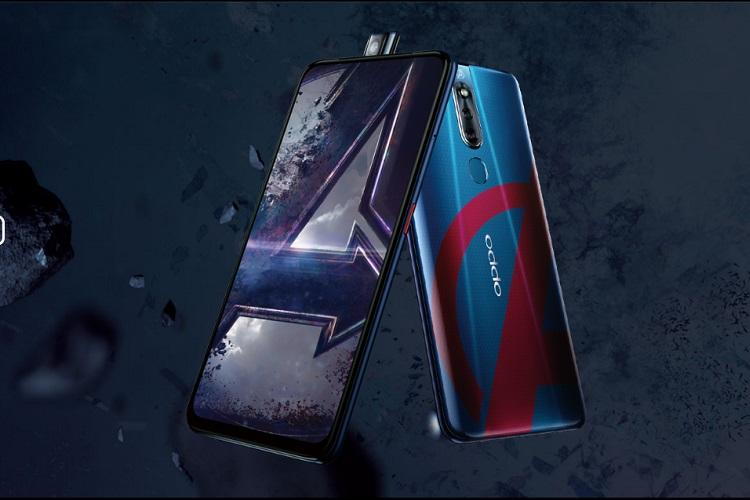 Oppo F11 Pro Marvels Avengers edition to go on sale on May 1