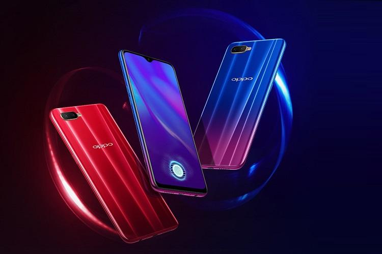 Oppo K1 launched with in-display fingerprint sensor and dual camera