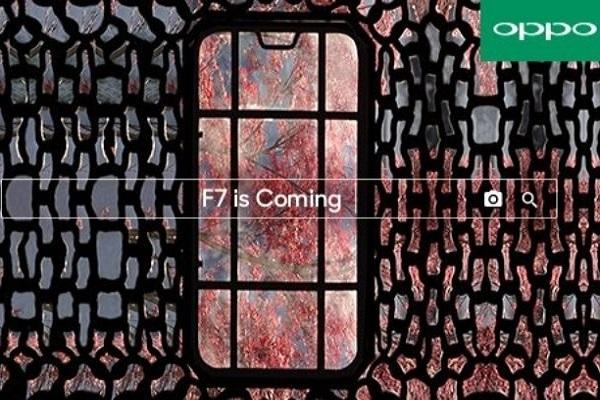 Oppo F7 With Notch Display and 25MP Selfie Camera Launching in India on March 26