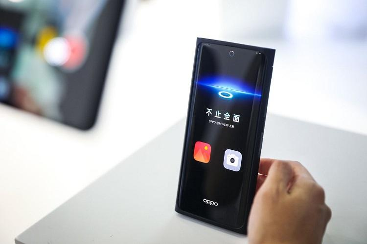 Oppo showcases its under-screen camera technology