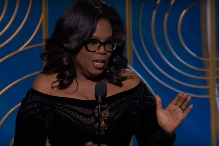 Their time is up Oprah Winfrey takes on sexual predators in powerhouse speech