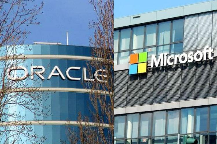Microsoft, Oracle join hands to take on AWS Cloud | The News Minute