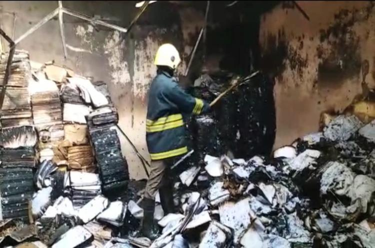 Short circuit causes fire in Hyds Osmania Uni Answer sheets partially destroyed