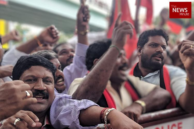 TN mourns for Kalaignar Essential services wont be badly hit traders say