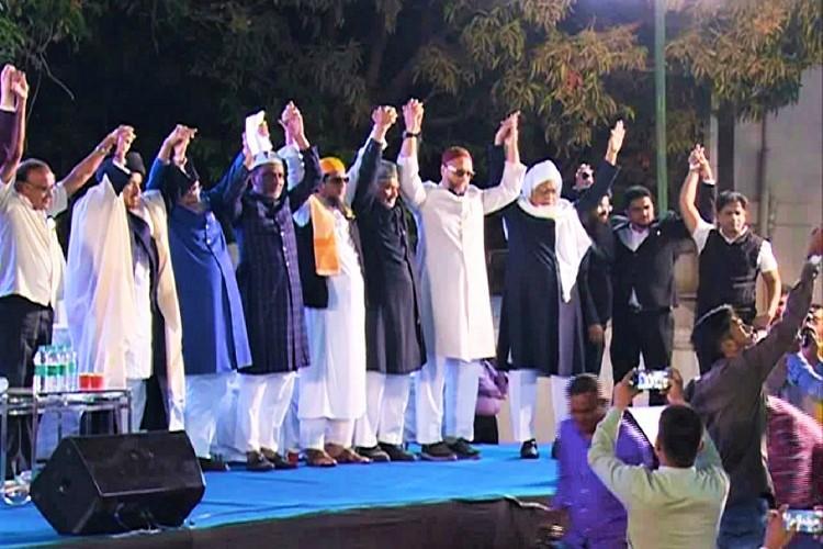 Muslim groups urge Telangana CM to stay NPR work in Hyderabad protest