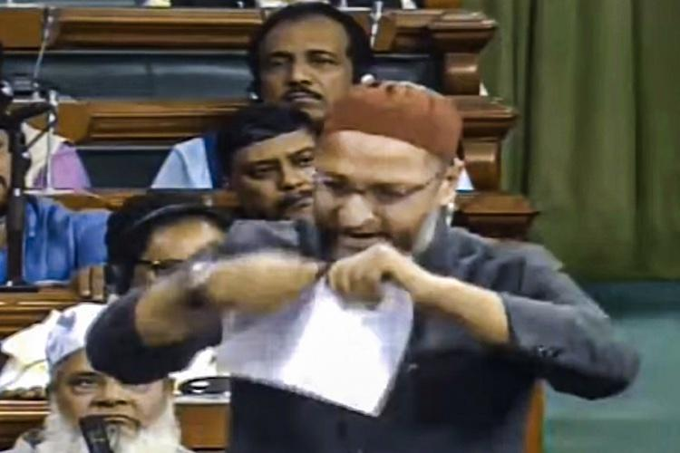 Withdraw your support to the CAA Owaisi appeals to Andhra CM Jagan