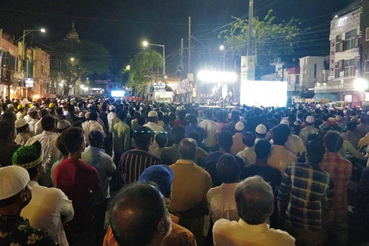 On eve of Republic Day Owaisi holds massive anti-CAA meet in Hyderabad