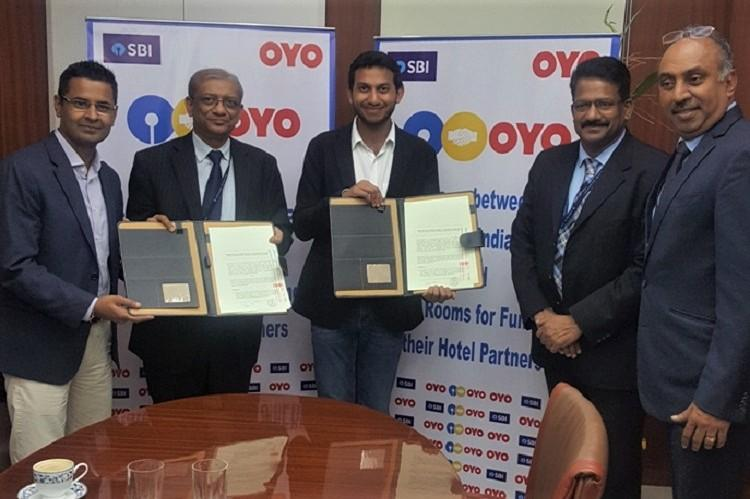 Oyo signs MoU with SBI and Bank of Baroda to offer financial support to small hotels