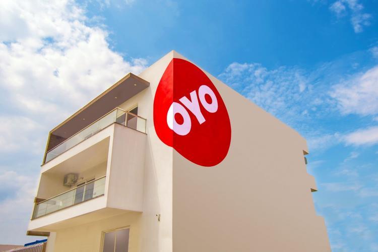 Building with OYO logo