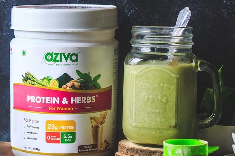 Plant-based nutrition brand OZiva