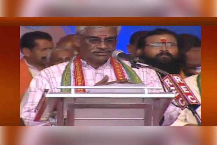 RSS not in favour of Presidents rule in Kerala demands statutory probe into killings