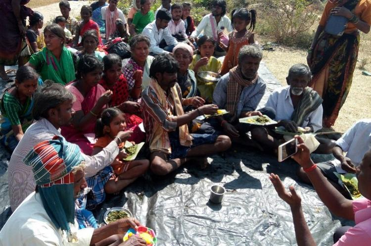 TNM impact 22 Ktaka Dalit families get ration that was denied for not linking Aadhaar