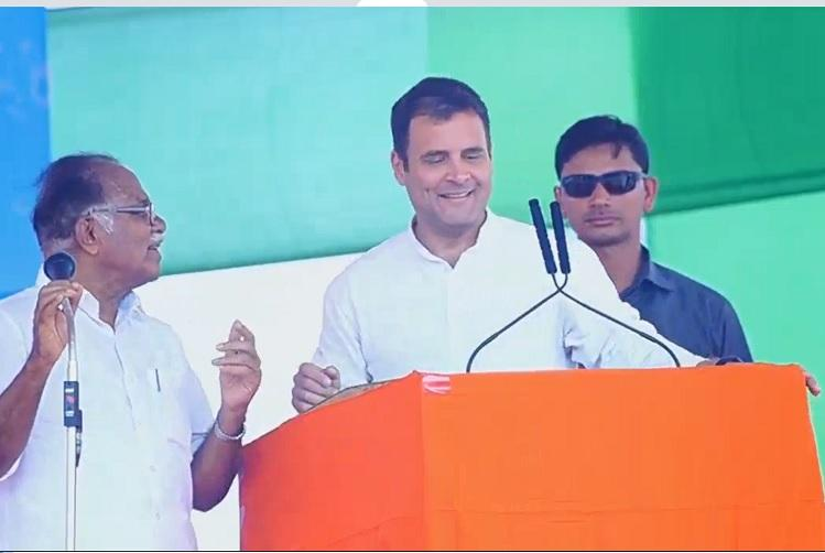 Watch Mistranslator PJ Kurien messes up Rahul Gandhis speech to hilarious effect