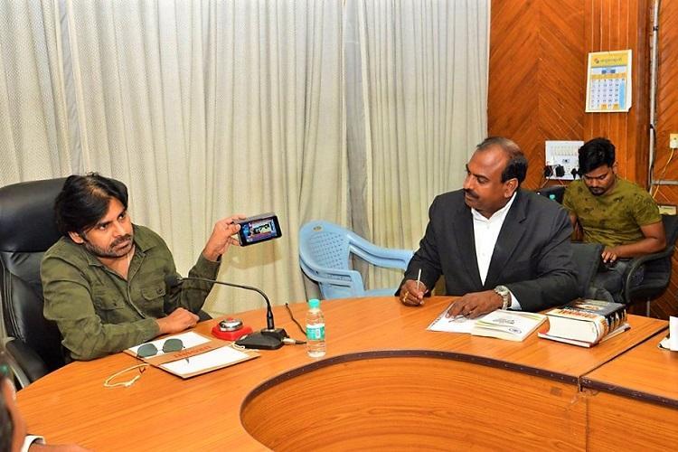 Sri Reddy and the Pawan Kalyan Friday show Villains aplenty in this AP script