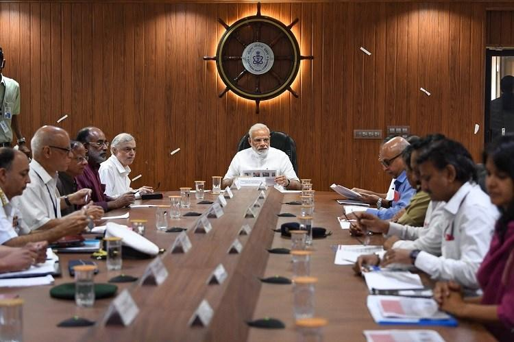 PM Modi declares Rs 500 crore assistance for flood-hit Kerala after taking stock