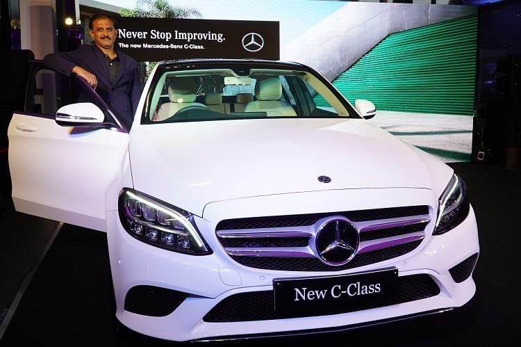 Sundaram Motors launches the New C-Class Mercedes-Benz in Bengaluru