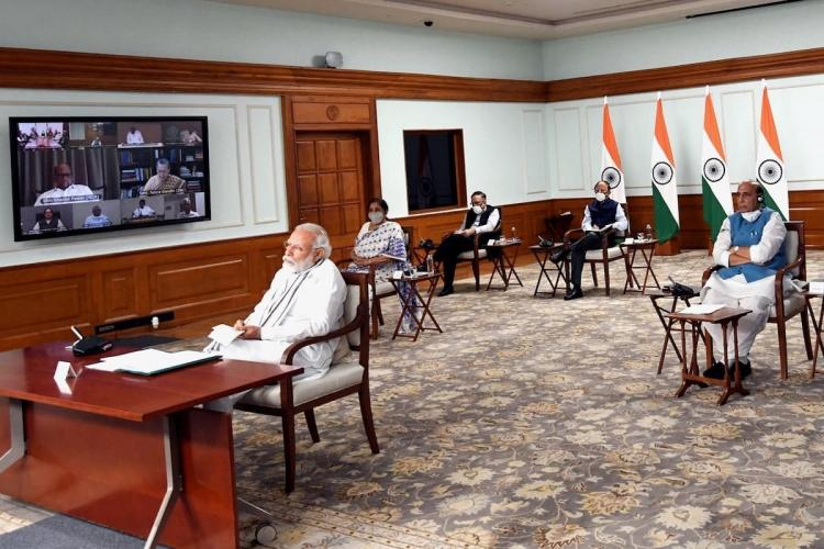 PM address all-party meet on LAC standoff
