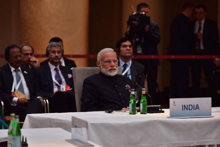 File photo of Prime Minister Narendra Modi during a G20 summit