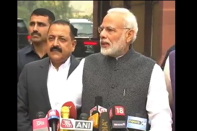 PM Modi says Govt believes in debating every issue in open manner keeps mum on demonetisation