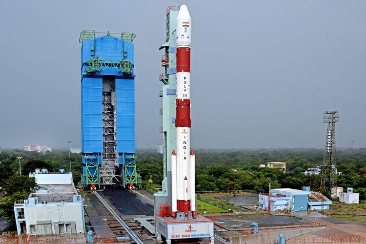 ISRO PSLV satellite launch with 9 customer satellites