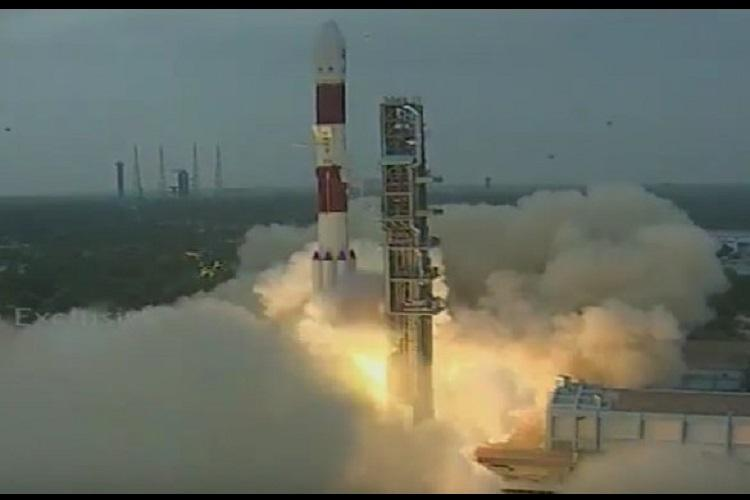 PSLV-C36 rocket lifts off successfully bearing Resourcesat-2A observation satellite