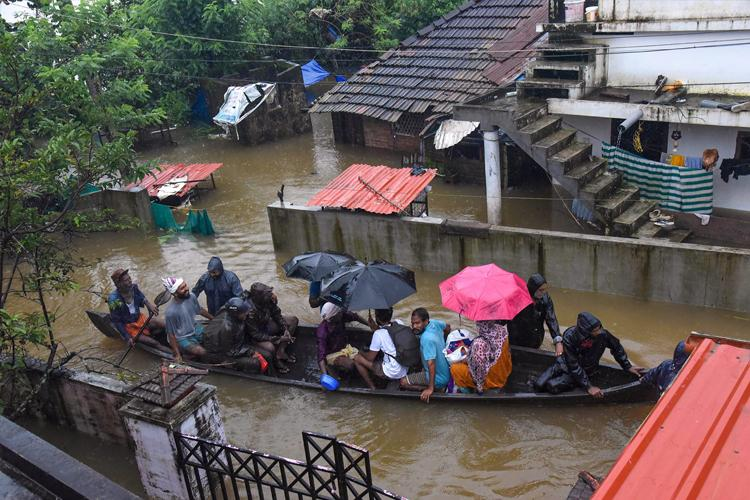 In the last 7 days Kerala has seen 257pc more rainfall than normal