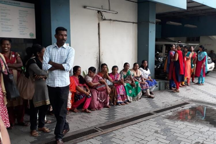 Kochi PVS hospital employees resume protests over non-payment of salary dues