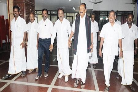 We are hopeful DMDK will join PWA says alliance leaders after meeting Vijayakanth
