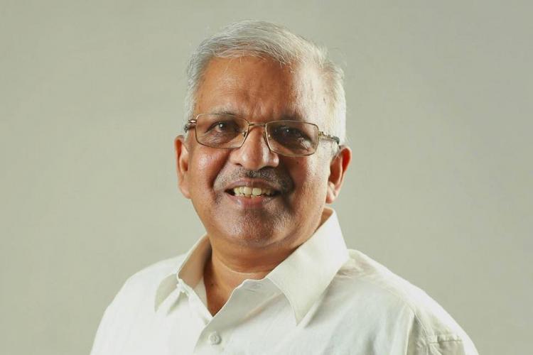 P Jayarajan in white shirt