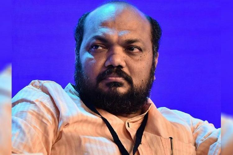 Kerala Industries Minister P Rajeev