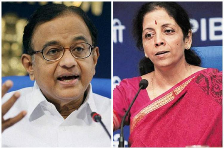 BJP Congress spar over P Chidambarams undeclared assets
