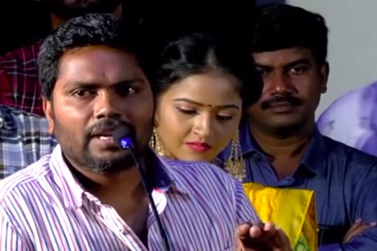 Producer K Rajan threatens Chinmayi what Pa Ranjith did next is Goals for Kollywood