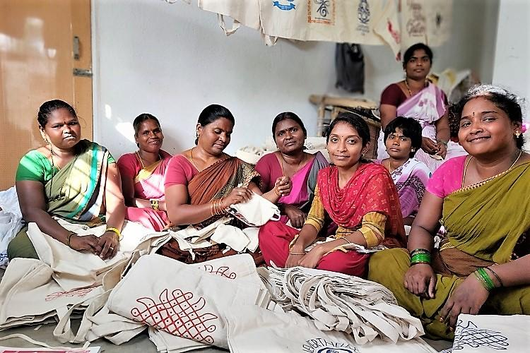 Watch Making cloth bags Paalaguttapalles Dalit women are turning their lives around