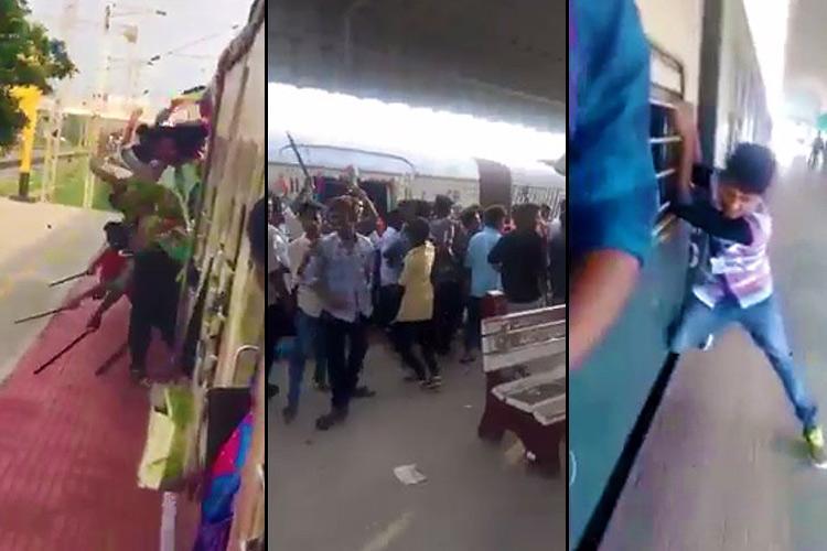 Videos of Chennai students dragging machetes and knives along rail platforms surface cops probe