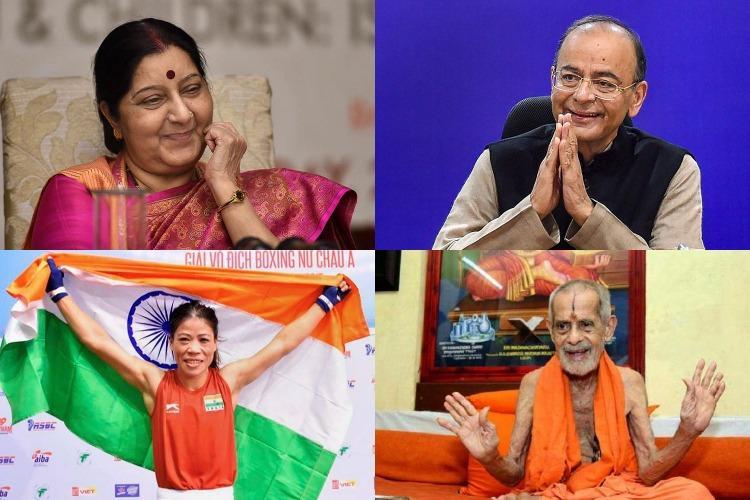Arun Jaitley Sushma Swaraj among 141 awardees of Padma Awards Heres the full list