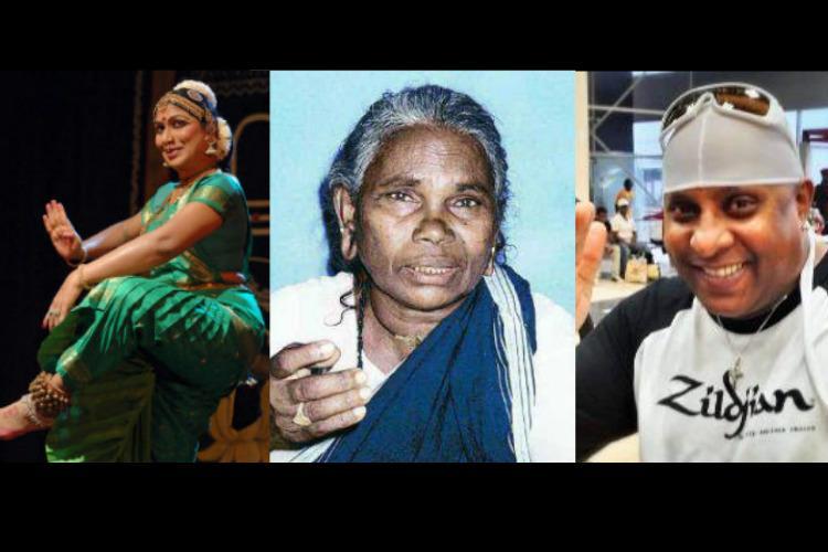 Trans woman-dancer Nartaki Natraj and six others from TN conferred Padma Shri