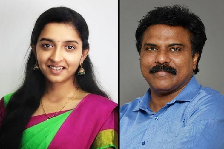 Padma Priya and Santhosh Babu who have both resigned from MNM
