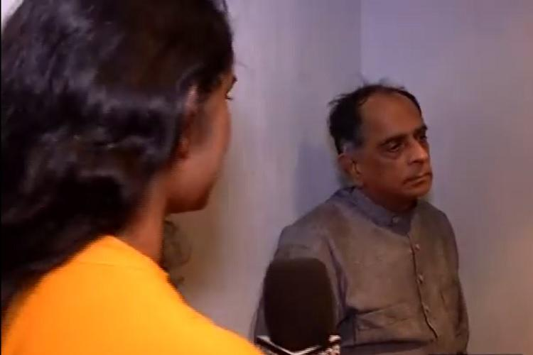 Remember the reporter Pahlaj Nihalani ignored in an elevator He filed a complaint against her